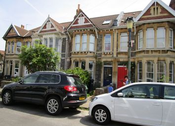 Thumbnail 4 bed terraced house to rent in Russell Road, Westbury Park, Bristol
