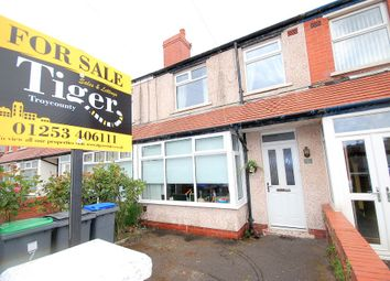 Thumbnail 2 bed terraced house for sale in Pickmere Avenue, Blackpool