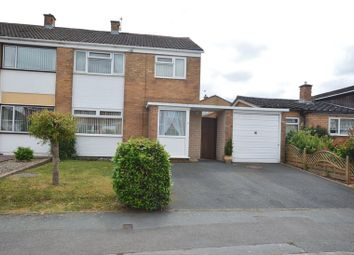 Thumbnail 3 bed semi-detached house for sale in Teme Avenue, Wellington, Telford