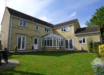 Thumbnail 5 bed detached house for sale in Alexander Drive, Cirencester, Gloucestershire