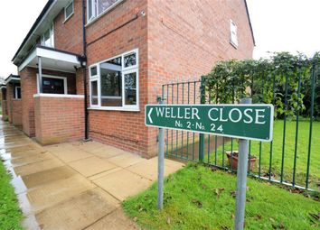 Thumbnail 1 bed flat for sale in Weller Close, Poynton, Stockport, Cheshire