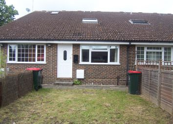 Thumbnail 1 bed terraced house to rent in Downsman Court, Southgate, Crawley