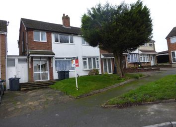 Thumbnail 3 bed semi-detached house to rent in Wilson Croft, Hall Green, Birmingham.
