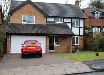 Thumbnail 4 bed detached house for sale in The Lawns, Prenton, Merseyside