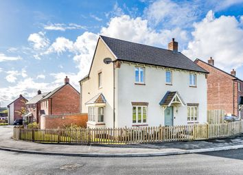 Thumbnail 4 bed detached house for sale in Valley Close, Lutterworth