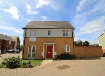Thumbnail 3 bed detached house for sale in Heathland Way, Grays