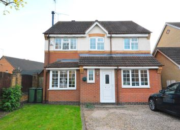 Thumbnail 4 bed detached house for sale in Fox Covert, Whetstone, Leicester