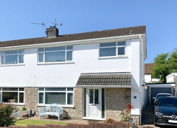 Thumbnail 3 bed semi-detached house for sale in Lambourne Drive, Swansea