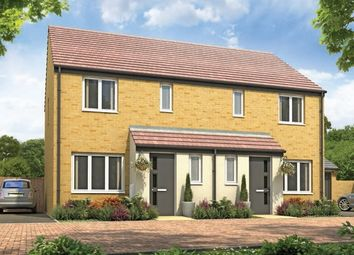 "Thumbnail 3 bedroom semi-detached house for sale in ""The Hanbury"" at Fellows Close, Weldon, Corby"
