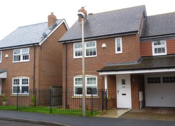 Thumbnail 3 bed town house to rent in Galloway Green, Congleton