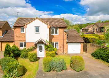 Thumbnail 3 bed detached house for sale in Larkwood Close, Kettering