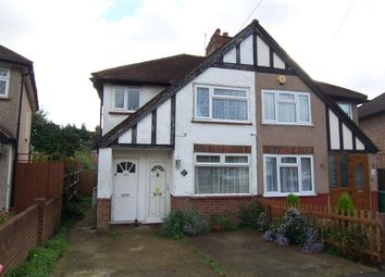 Thumbnail 1 bed flat to rent in Clewer Crescent, Harrow