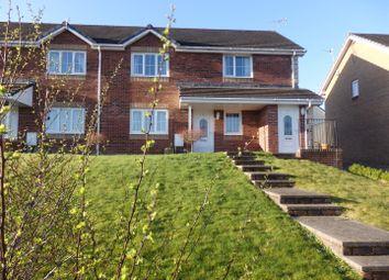 Thumbnail 2 bedroom flat for sale in Heol Y Bwlch, Bynea, Llanelli