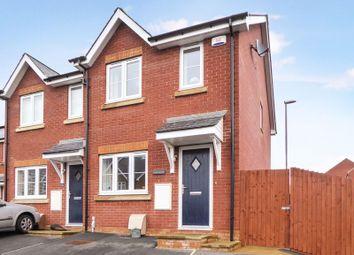 Thumbnail 2 bed semi-detached house for sale in Gwel Y Llan, Caernarfon