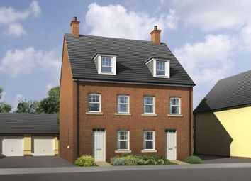 "Thumbnail 3 bed terraced house for sale in ""Greenwood"" at Wonastow Road, Monmouth"