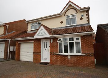 Thumbnail 3 bedroom detached house for sale in Beacon Glade, South Shields