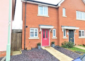 Thumbnail 2 bed semi-detached house for sale in Buzzard Rise, Stowmarket