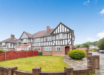 Thumbnail 4 bed semi-detached house for sale in Crown Woods Way, London