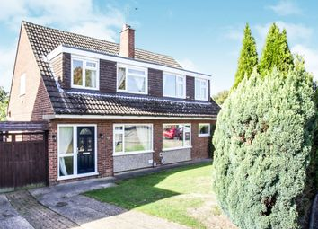 Thumbnail 3 bedroom semi-detached house for sale in Ketton Close, Luton