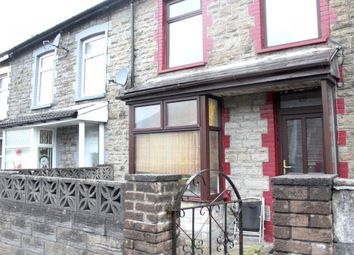 Thumbnail 3 bed terraced house for sale in Llwynypia -, Tonypandy