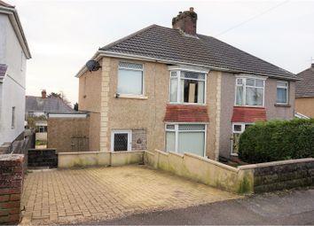 Thumbnail 3 bedroom semi-detached house for sale in Pentyla Road, Cockett