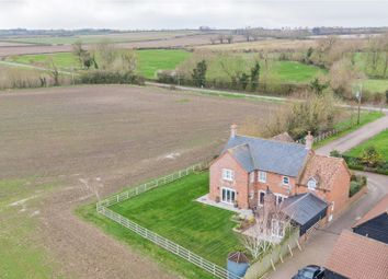 Thumbnail 4 bed detached house for sale in Linden Grove, Keyston, Huntingdon, Cambridgeshire