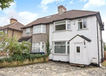 Thumbnail 3 bed semi-detached house for sale in Deans Way, Edgware, Middlesex