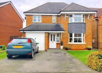 Thumbnail 4 bed detached house for sale in Manifold Way, Wednesbury, West Midlands