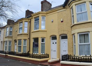 Thumbnail 4 bed terraced house to rent in Edinburgh Road, Kensington Fields, Liverpool