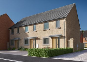 "Thumbnail 2 bed terraced house for sale in ""The Harcourt"" at Heron Road, Northstowe, Cambridge"