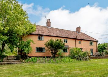Thumbnail 4 bed detached house for sale in Bickers Hill Road, Laxfield, Woodbridge, Suffolk