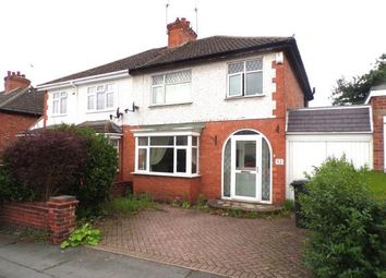 3 bed semi-detached house for sale in Gwendolin Avenue, Birstall, Leicester, Leicestershire LE4