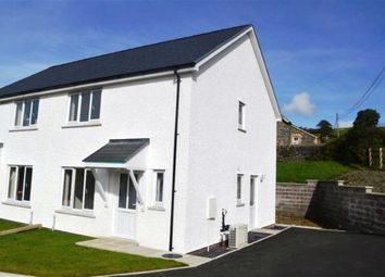 Thumbnail 3 bed semi-detached house for sale in New Build, Plot 3, Adj To Ty'r Ysgol, Lledrod, Aberystwyth, Ceredigion
