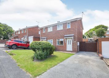 Thumbnail 2 bed semi-detached house for sale in Falcon Way, Woodville, Swadlincote, Derbyshire