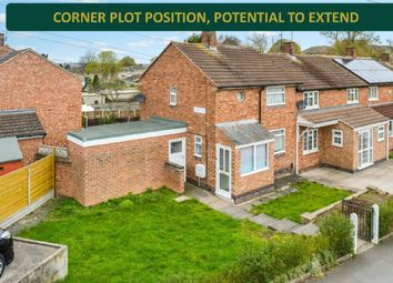 Thumbnail 2 bed end terrace house for sale in Hurst Rise, Evington, Leicester