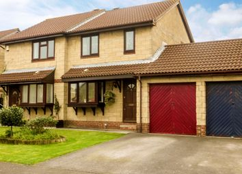 Thumbnail 3 bed semi-detached house for sale in Kelston Road, Worle Weston Super Mare
