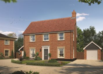 Thumbnail 3 bed detached house for sale in Lark Grove, Somersham, Ipswich, Suffolk