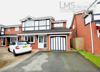Thumbnail 4 bed detached house to rent in Inglewood Avenue, Middlewich