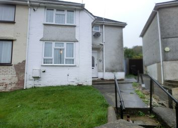 Thumbnail 3 bedroom semi-detached house for sale in Heol Y Llwynau, Trebanos, Swansea.