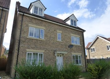Thumbnail 5 bedroom detached house to rent in Evergreen Way, Mildenhall, Bury St. Edmunds