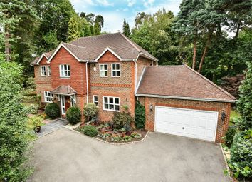 Thumbnail 5 bed detached house for sale in Crawley Wood Close, Camberley, Surrey