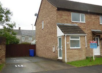 Thumbnail 2 bed end terrace house to rent in Heol Yr Eglwys, Bryncethin, Bridgend.