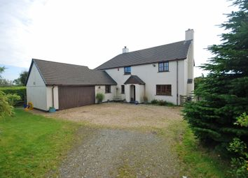 Thumbnail 4 bed detached house for sale in Woolsery, Bideford