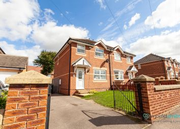 Thumbnail 3 bed semi-detached house for sale in Newland Avenue, Cudworth