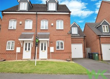 Thumbnail 4 bedroom semi-detached house for sale in Old College Drive, Wednesbury, West Midlands