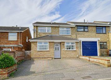 Thumbnail 3 bed end terrace house for sale in Philip Gardens, Eynesbury, St. Neots