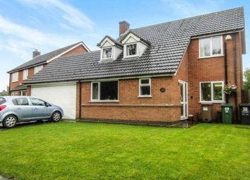 Thumbnail 4 bed detached house for sale in Rupert Crescent, Queniborough, Leicester