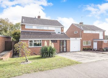 Thumbnail 3 bed detached house for sale in Lynwood Close, Desford, Leicester