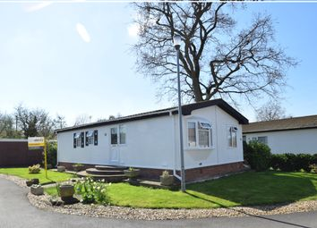 Thumbnail 2 bed detached bungalow for sale in Shepherds Grove Park, Stanton, Bury St. Edmunds