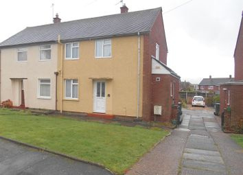 Thumbnail 2 bed semi-detached house to rent in Anglia Road, Cannock